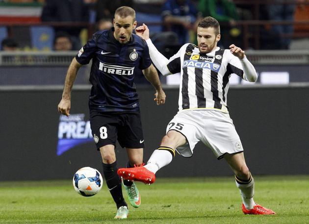 Nel posticipo Inter bloccata sul pari dall'Udinese.