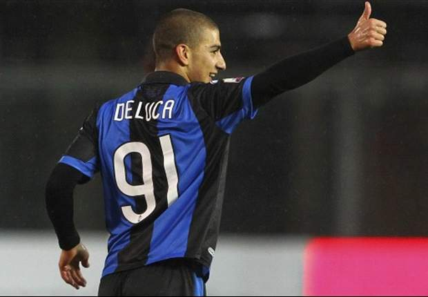 De Luca, attaccante dell'Atalanta