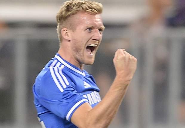 Vantaggio Chelsea, gol di Schurrle