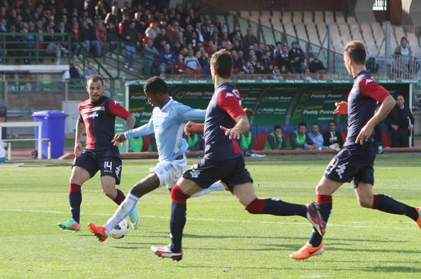 Il gol di Keita chiude l'incontro tra Cagliari e Lazio