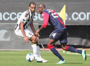 Victor Ibarbo, migliore in campo nella sfida tra Cagliari e Udinese