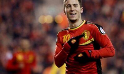Eden Hazard, stella del Belgio