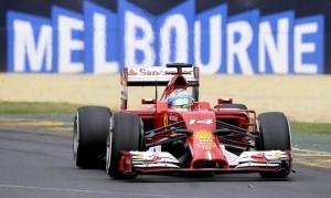 F1 - Alonso durante le fasi di gara