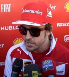 F1 - Alonso intervistato