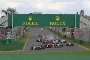 F1 - La partenza del Gran Premio