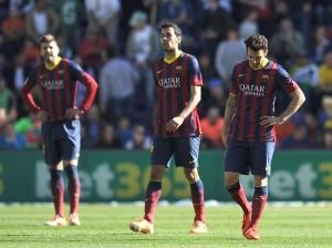 Barcellona sconfitto dal Valladolid