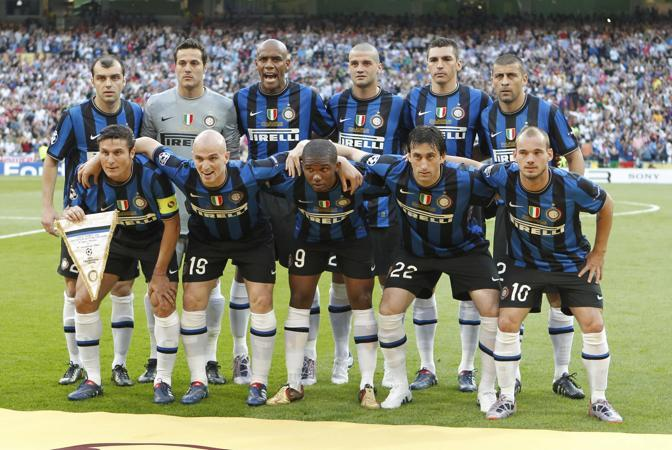 Formazione dell'Inter alla finale di Champions