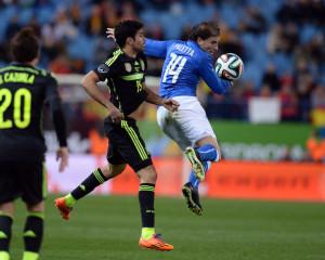 Gabriel Paletta, migliore in campo dell'Italia nella sfida con la Spagna