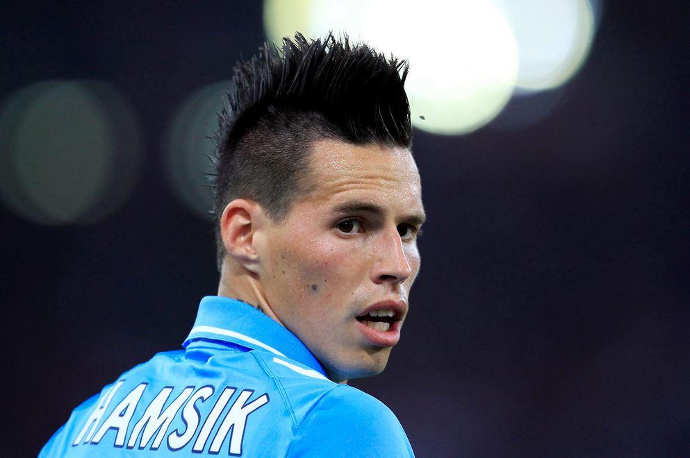 Marek Hamsik, centrocampista del Napoli