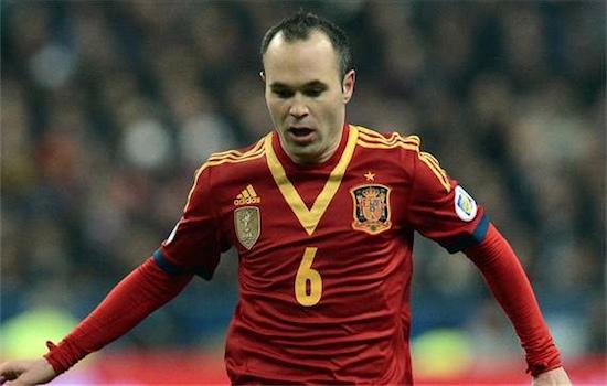 Andres Iniesta, forse all'ultima con la Spagna