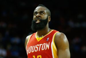 James Harden, leader degli Houston Rockets.