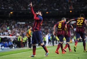 Messi stende il Real con una tripletta