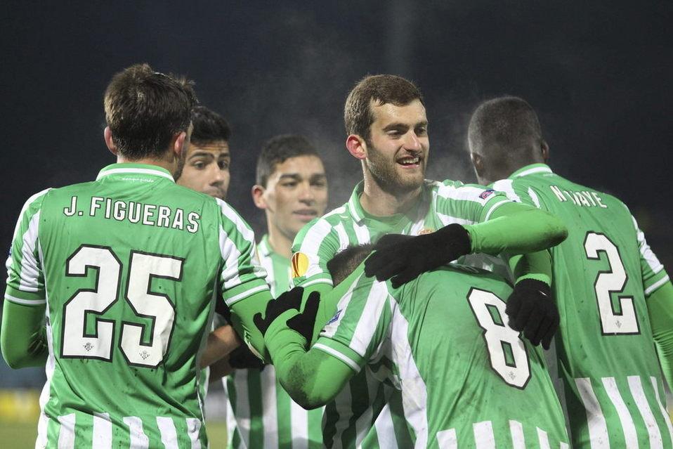 Leo Baptistao è tra i migliori nelle pagelle di Siviglia-Betis