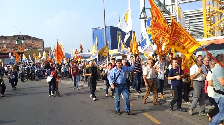 Manifestazione per l'indipendenza del Veneto