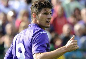 Mario Gomez, 4 gol finora con la Fiorentina