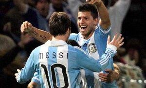 Messi e Aguero, le stelle dell'Argentina