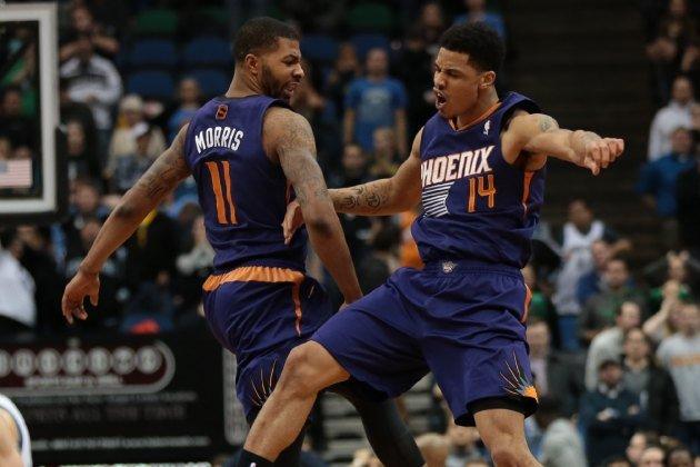 Morris- Green, protagonisti dalla panchina della vittoria dei Phoenix Suns contro i Toronto Raptors