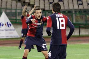 Nenè, attaccante del Cagliari, è stato il migliore in campo