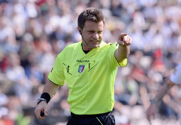 Nicola Rizzoli, arbitro della finalissima di Brasile 2014.