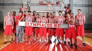 I Campioni d'Europa dell'Olympiakos Pireo.