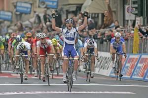 Alessandro Petacchi, vincitore di 22 tappe al Giro