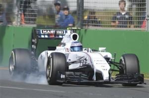 Prove Libere, Bottas con la sua Williams Martini non si è confermato veloce come nei test