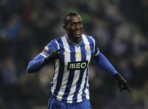 Jackson Martinez autore del gol dell'1 a 0 di Porto-Benfica