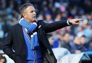 Sinisa Mihajlovic, allenatore della Sampdoria e ex giocatore dell'Inter