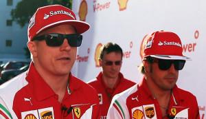Raikkonen e Alonso: profondo rosso