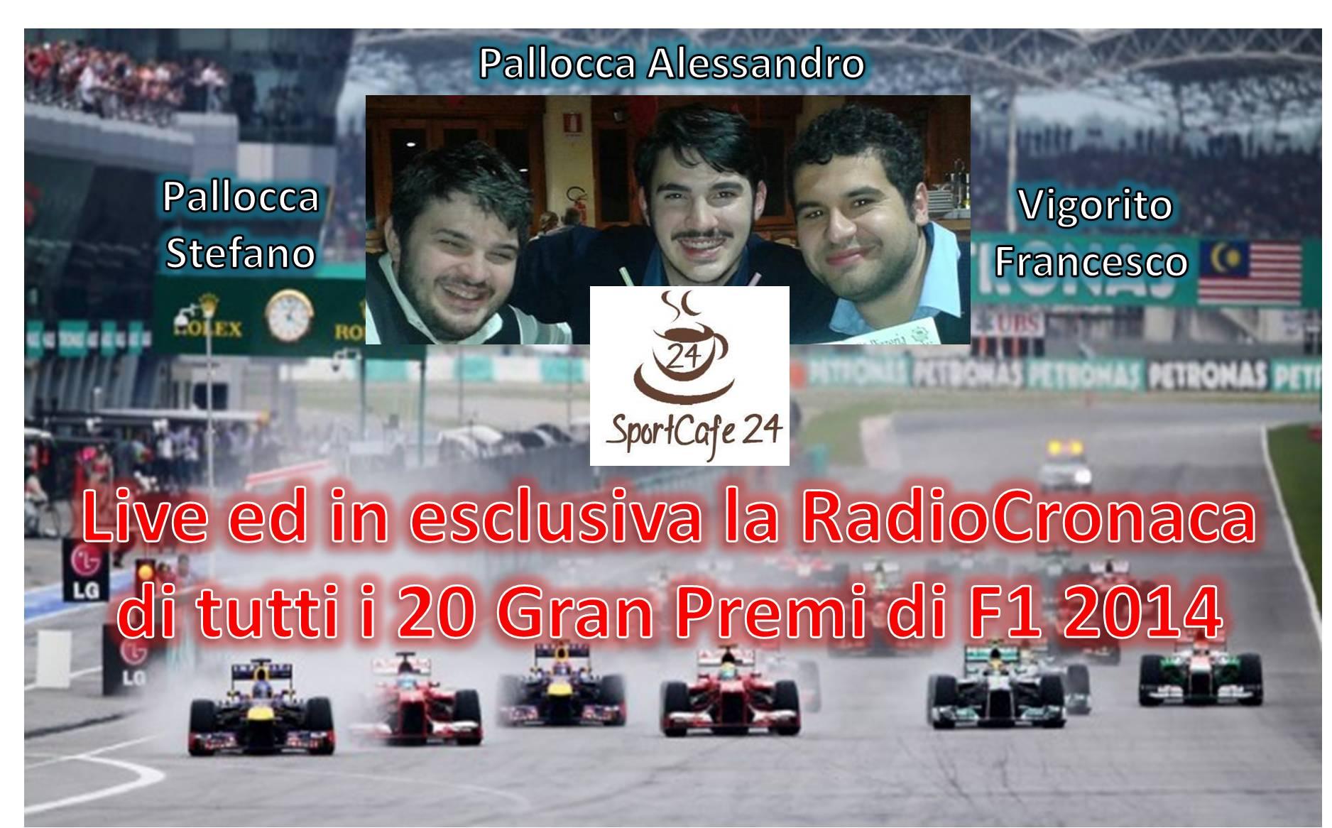 Sportcafè24-Radiocronaca Promo F1 2014
