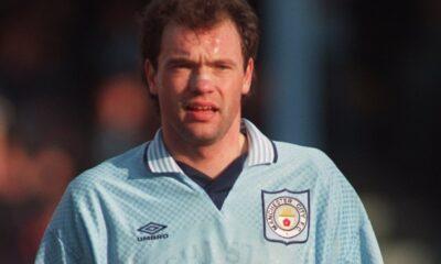 Uwe Rösler ai tempi del Manchester City.