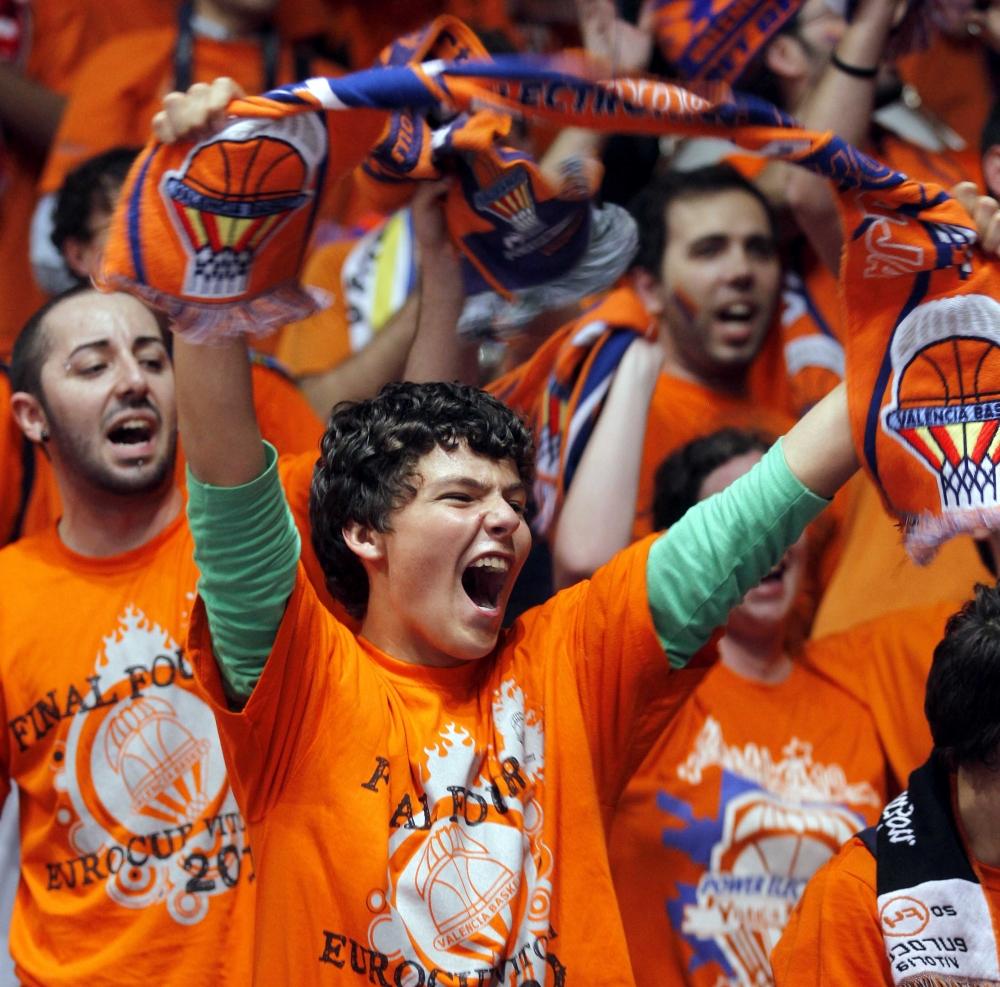 Il pubblico del Valencia Basket.