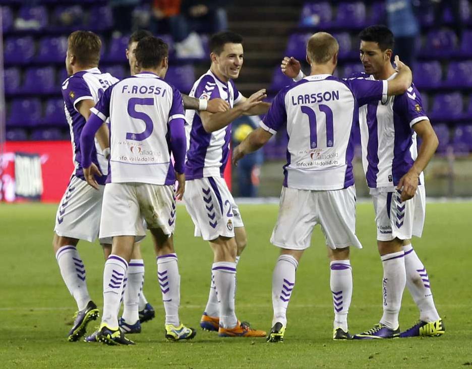 Valladolid vincente grazie a Fausto Rossi, Barcellona ko