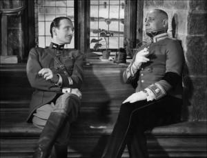 Dialogo tra Von Strohem e Pierre Fresnay interpreti de la grande illusione
