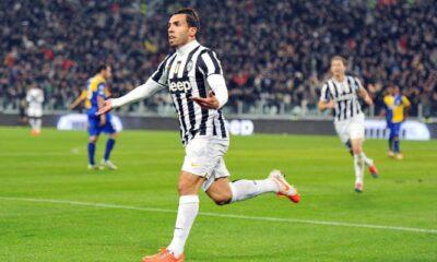 Le pagelle di Juventus-Parma 2 a 1. Doppietta di Tevez che lancia la Juventus
