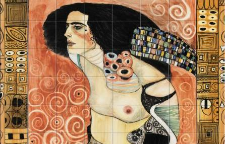 Giuditta II di Klimt