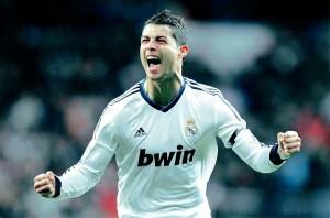 Cristiano Ronaldo, con la maglia del Real Madrid