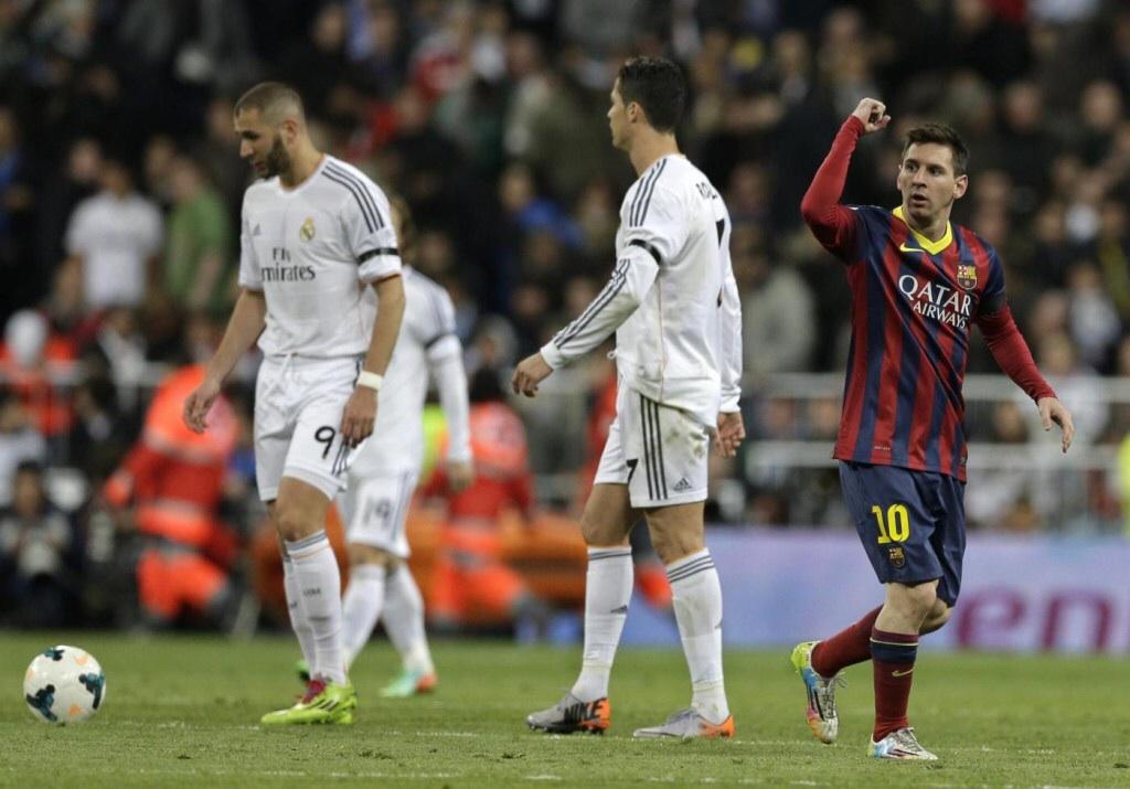 Real Madrid-Barcellona 3-4: grande prova per Messi e compagni