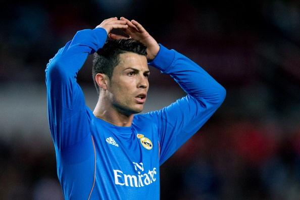 Siviglia-Real Madrid 2-1: Ronaldo si dispera dopo la sconfitta del suo Real