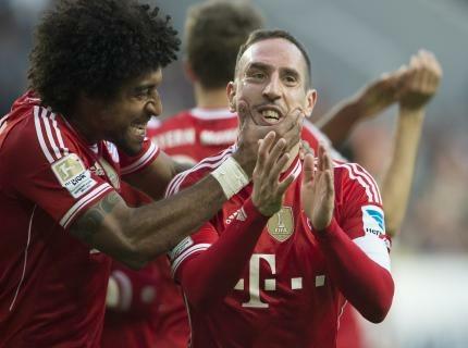 Bundesliga: il Bayern a valanga nel pomeriggio