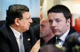 Incontro Barroso-Renzi