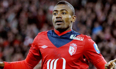 Kalou con la maglia del Lille