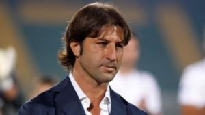 Massimo Rastelli, allenatore dell'Avellino, sconfitto nell'andata dei playoff dal Bologna