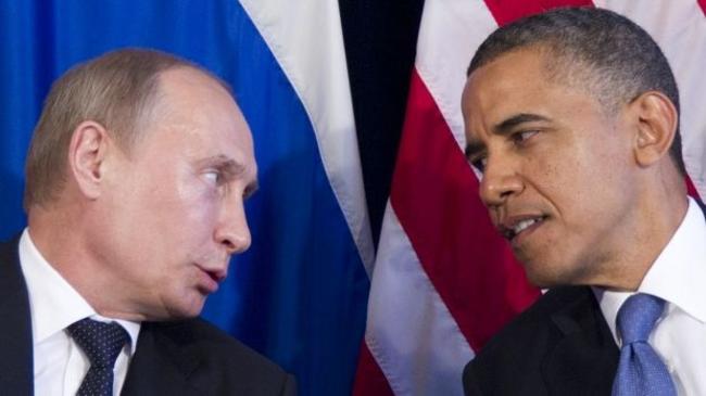 Obama e Putin sulla questione Ucraina.