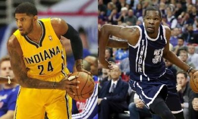 Paul George , Kevin Durant, Sportcafe24