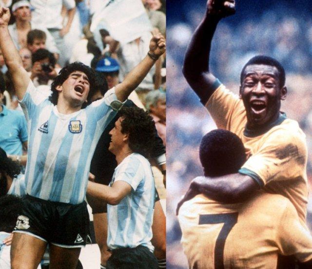 Secondo la Fifa Pelè è meglio di Maradona.