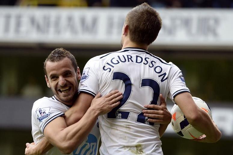E' dell'islandese Sigurdsson la rete decisiva nella vittoria del Tottenham.
