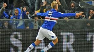 Maxi Lopez, ai tempi della Sampdoria: domani sfida la sua ex squadra e può essere fondamentale per il vostro fantacalcio
