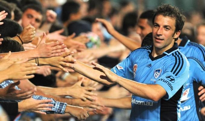 Del Piero saluta l'Australia e valuta il suo futuro