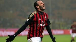Pazzini, attaccante del Milan